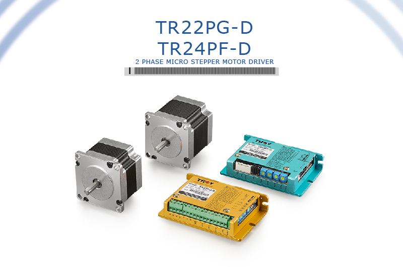 2 Phase Micro Stepper Motor Driver(pulse controller)-TR22PG-D, TR24PF-D